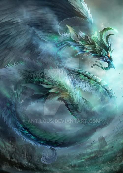 ปกนิยายเรื่อง dragon of disaster กำเนิดมังกรแห่งภัยพิบัติ