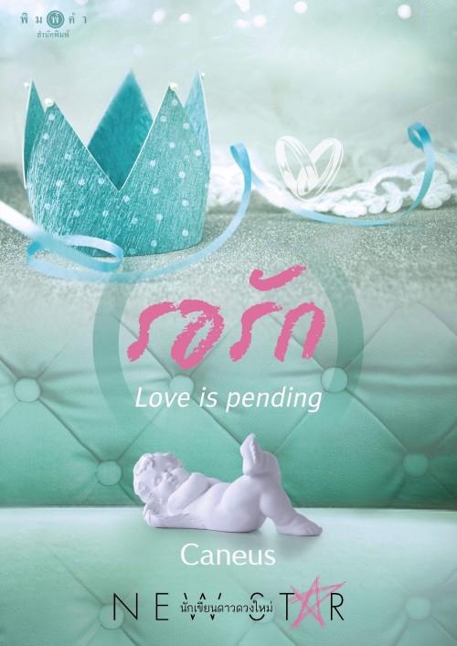 หน้าปกนิยาย เรื่อง รอรัก: Love is pending