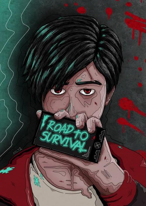 หน้าปกนิยาย เรื่อง Road to survival