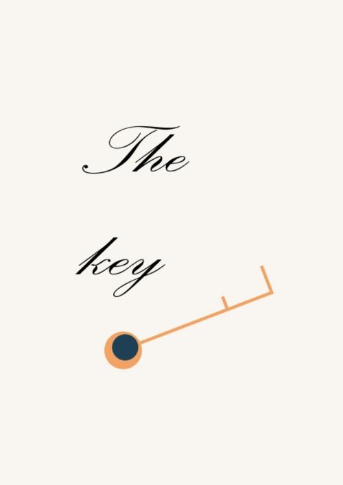 ปกนิยายเรื่อง ~THE KEY~คีย์รัก