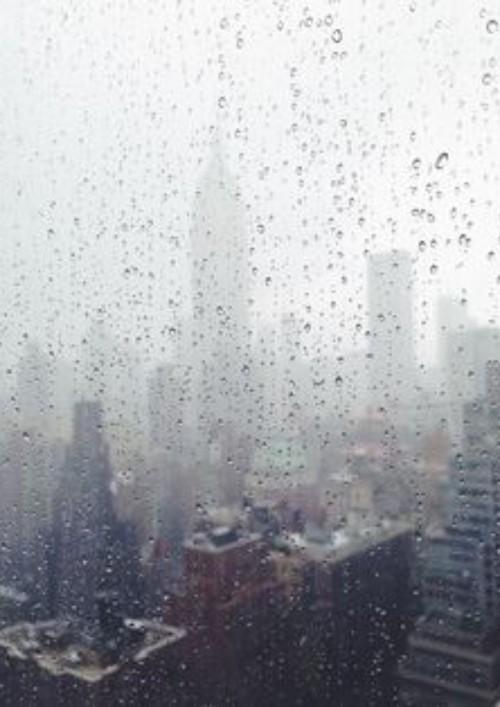 หน้าปกนิยาย เรื่อง When It Rains.