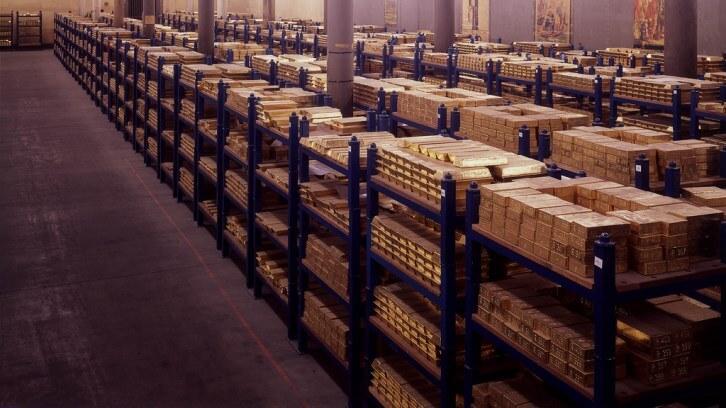 Bank of England: Gold Vault