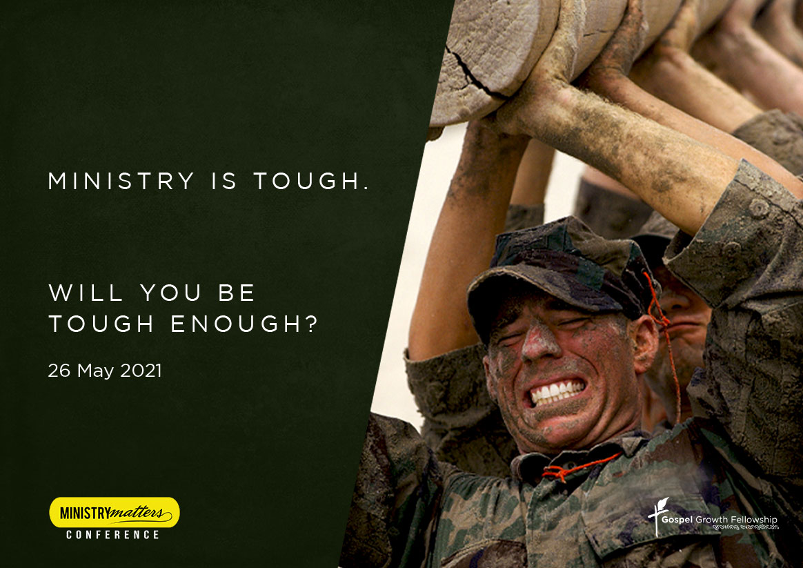 Ministry is tough. Will you be tough enough?