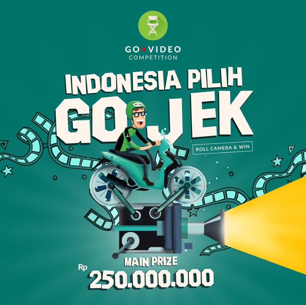 Go Jeck Pay: GO-VIDEO Competition 2016