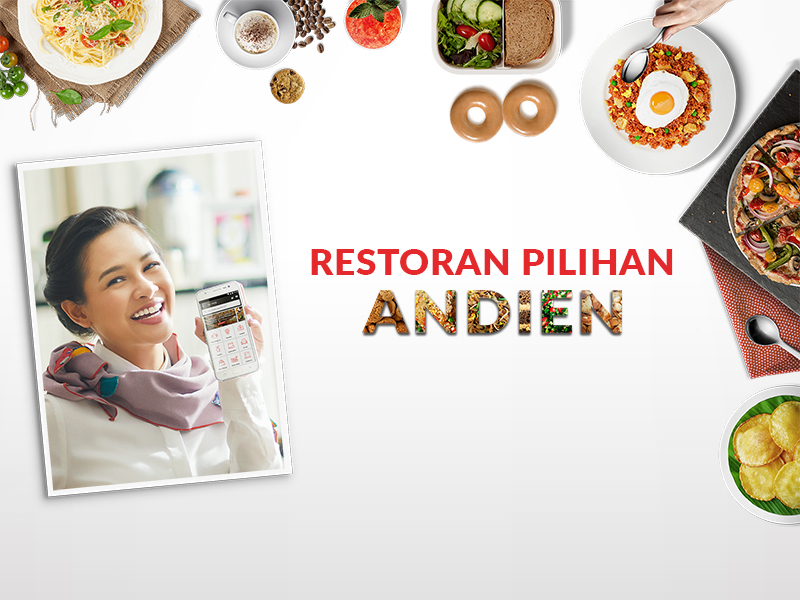 Mau Tahu 10 Restoran Terfavorit Pilihan Andien di GO-FOOD?