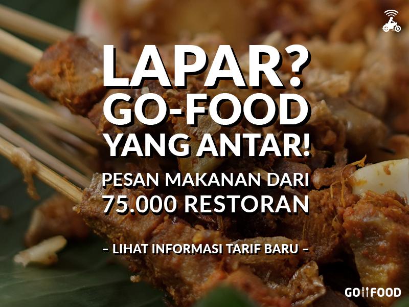 Informasi Biaya Antar GO-FOOD Terkini – 17 Juli 2017