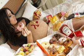 junk food pregnant