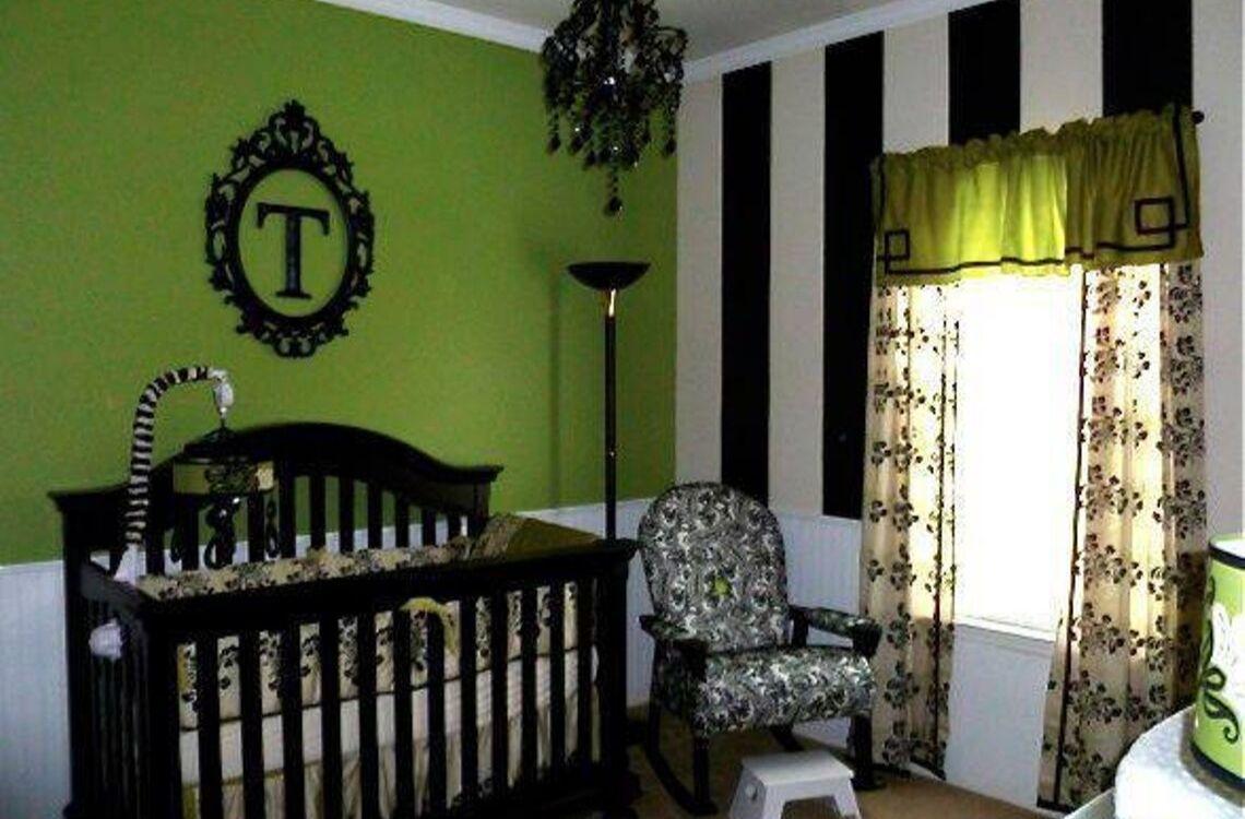 Halloween Inspired Baby Room Ideas