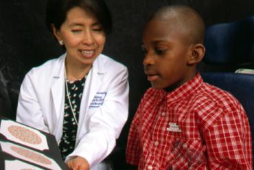 โรคตาบอดสีในเด็ก