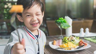 เมนูอาหารเช้าสำหรับเด็ก