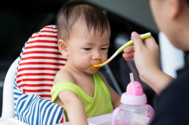 สัดส่วนอาหารสำหรับทารก