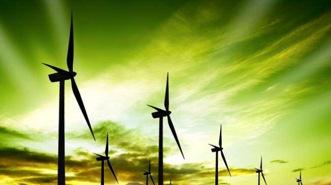 Ilustrasi: Turbin angin. (Shutterstock)