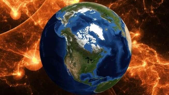 Ilustrasi Bumi. [Shutterstock]