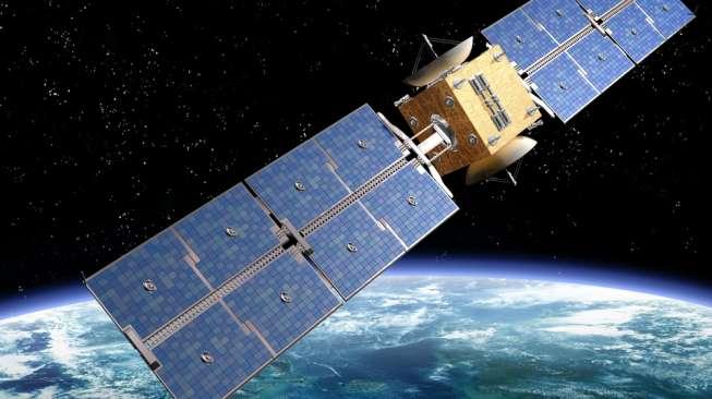 Ilustrasi satelit. [shutterstock]