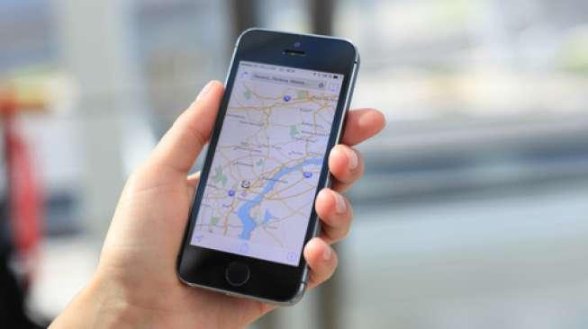 Ilustrasi Google Maps (Shutterstock).