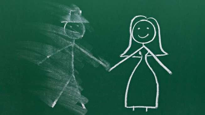 Ilustrasi putus cinta (Shutterstock).
