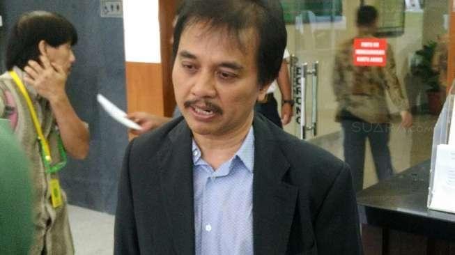 Roy Suryo [suara.com/Agung Sandy Lesmana]