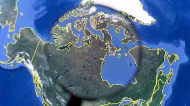 Ilustrasi Google Earth [Shutterstock].