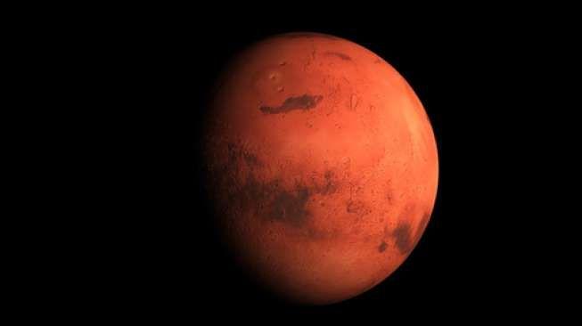 Planet Mars dari hasil pemotretan NASA [NASA].