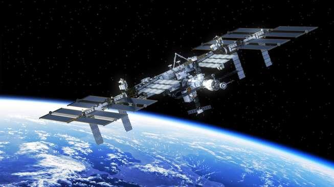 Stasiun luar angkasa. [Shutterstock]