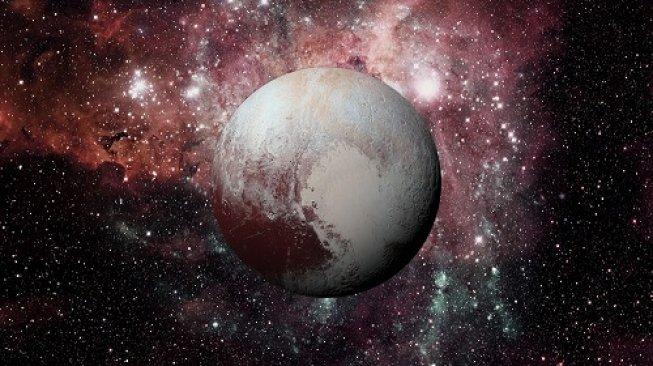 Ilustrasi Planet Pluto. [Shutterstock]