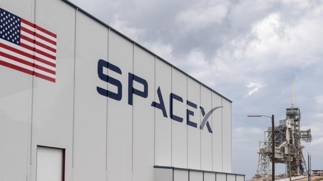 Logo SpaceX. [Shutterstock]