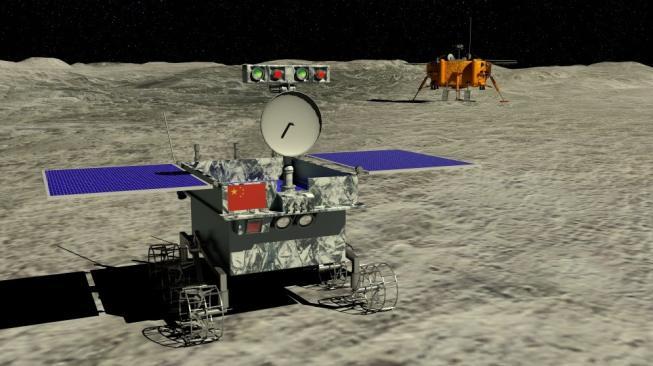 Wahana antariksa Cina, Chang'e-4. Sebagai ilustrasi [Shutterstock]