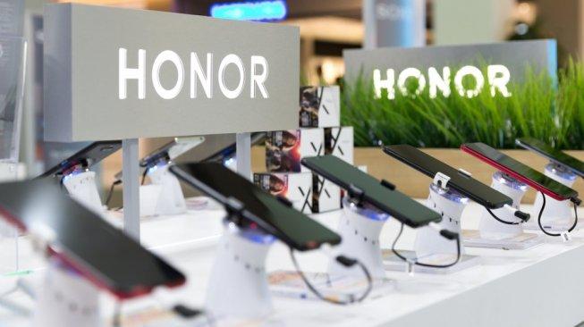Ilustrasi logo Honor. [Shutterstock]