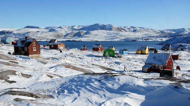 Ilustrasi Greenland (Pixabay/Thomas_Ritter)