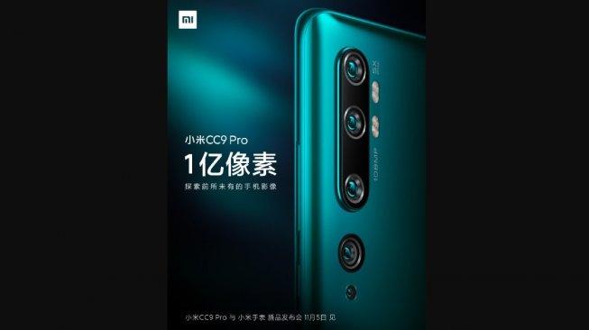 Xiaomi Mi CC9 Pro, sebagai produk sebelum Xiaomi Mi CC10 [Weibo]