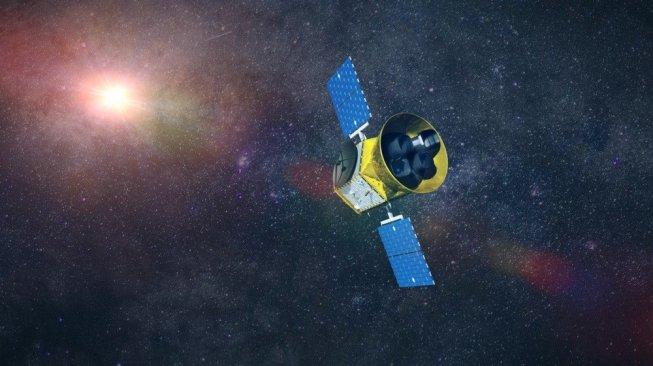 Transiting Exoplanet Survey Satellite (TESS) milik NASA. [Shutterstock]