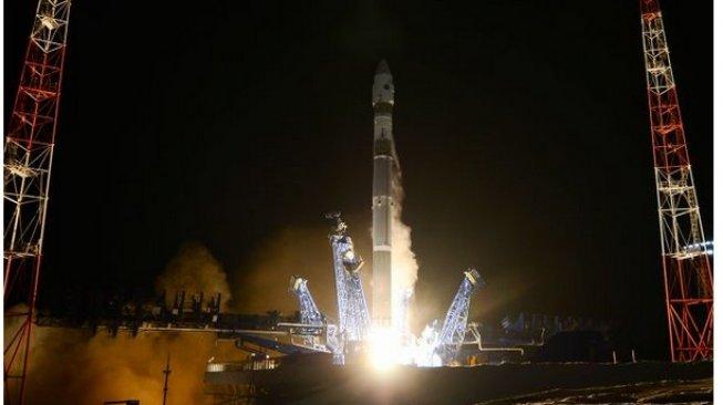 Roket peluncur Rusia yang berada di Plesetsk Cosmodrome [screen shot: Rosscosmos].