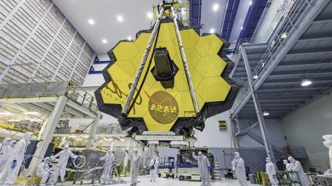 James Webb Space Telescope. [NASA}
