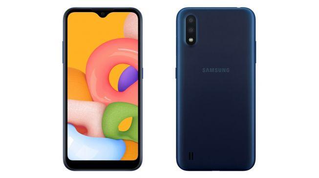 Samsung Galaxy A01 mulai dijual di Vietnam pada awal Februari 2020. [Dok Samsung Vietnam]
