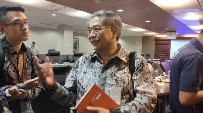 Kepala Lembaga Biologi Molekuler Eijkman, Profesor Amin Subandriyo. (Suara.com/Ria Rizki)
