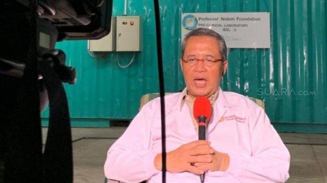Profesor Dr drh Chairul Anwar Nidom atau Profesor Nidom, Guru Besar Universitas Airlangga (Unair) Surabaya. (dok pribadi)