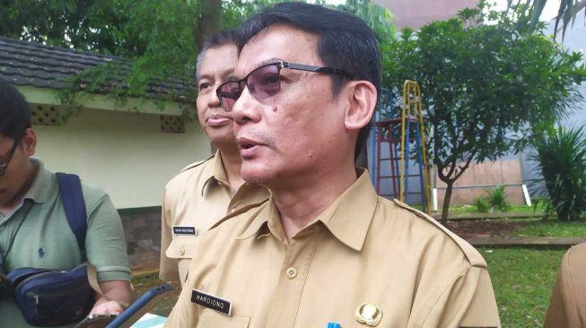 Sekretaris Daerah Kota Depok Hardiono. [Suara.com/Supriyadi]