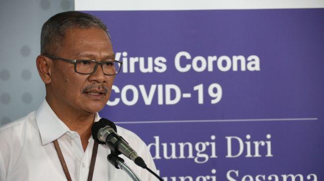 Juru Bicara Pemerintah Untuk Penanganan Virus Corona Achmad Yurianto. (BNPB)