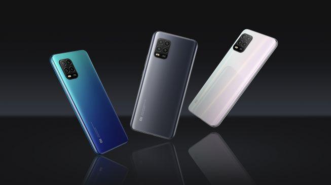 Xiaomi Mi 10 Lite dilengkap dengan 4 kamera. [Dok Xiaomi]