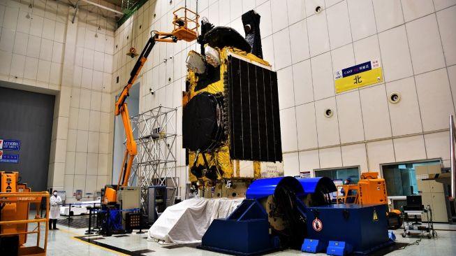 Satelit Nusantara Dua. [Indosat]