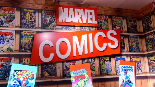 Ilustrasi komik-komiki dari Marvel Comics. [Shutterstock]