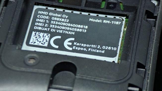Ilustrasi kode IMEI sebuah ponsel. [Shutterstock]