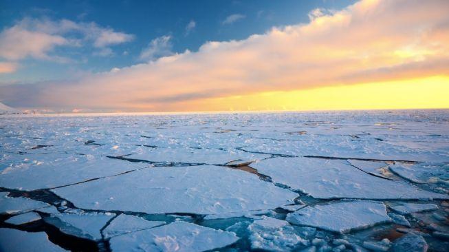Global warming di Arktik, Kutub Utara. [Shutterstock]