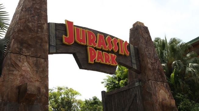Ilustrasi Jurassic Park. [Shutterstock]