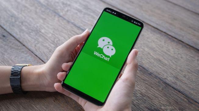 Aplikasi WeChat. [Shutterstock]