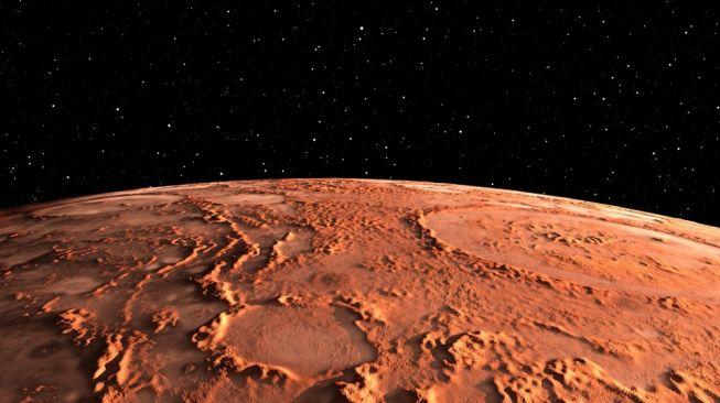 Ilustrasi Planet Mars [Shutterstock]