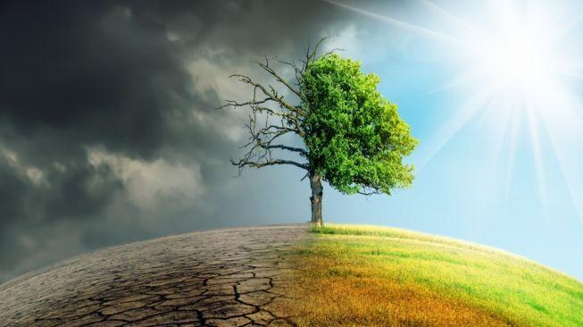 Ilustrasi perubahan iklim. [Shutterstock]