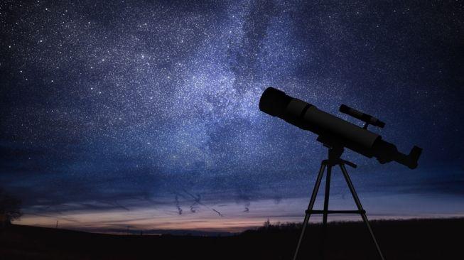 Ilustrasi teleskop. [Shutterstock]