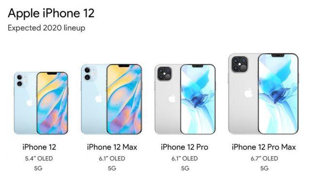 Bocoran iPhone 12. [Phonearena]