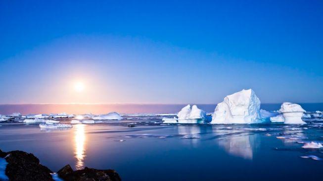 Ilustrasi Kutub Selatan. [Shutterstock]